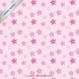 Fleurs roses modèle