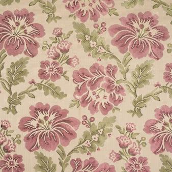 Fond en tissu avec motifs floraux