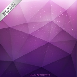 Fond polygonal Violet