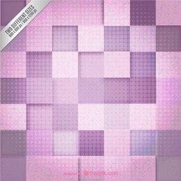 Fond rose et violet géométrique