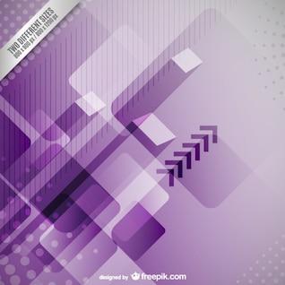 Fond violet technologique