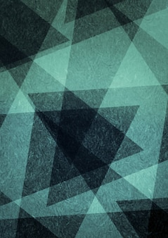 Formes triangulaires abstraites en noir et blanc avec texture.