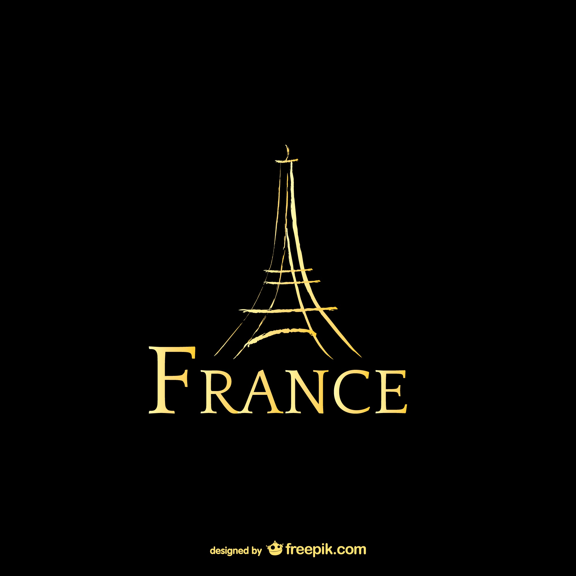 France et Tour Eiffel logo