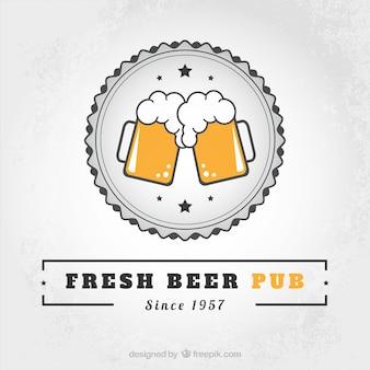 Frais pub de la bière