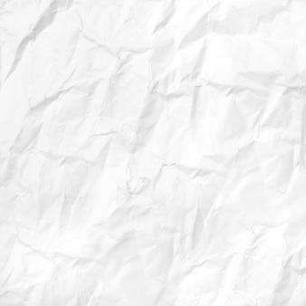 Froissé papier blanc