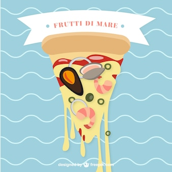Frutti di mare à pizza