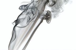Fumée abstraite dynamique