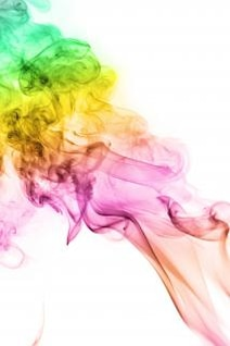 Fumée abstraite lisse