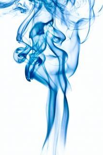 Fumée, élégante, de l'encens, fond