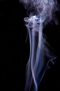 Fumer lumière abstraite