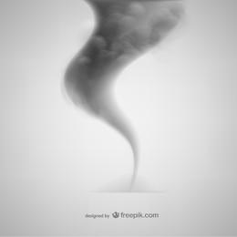 Fumer modèle vecteur libre