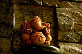 Ganesh Idol Hindou God