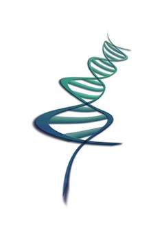 Gène acide désoxyribonucléique ADN patrimoine graphique