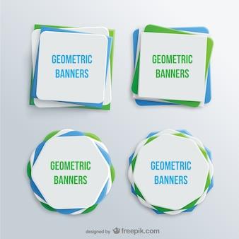Bannières géométriques