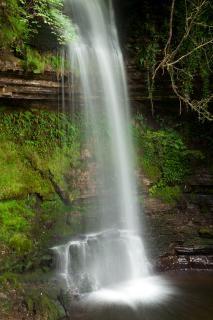 Glencar chutes cascade