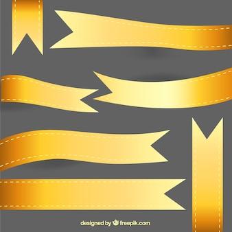 collecte des rubans d'or