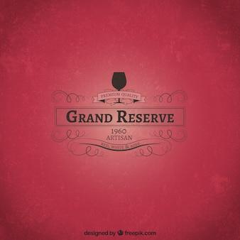 Grand-vin de réserve