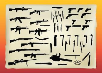 gratuitement graphiques vectoriels armes