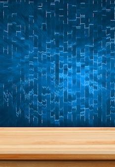 Gros plan de fond de fond de studio en bois clair - bon usage pour les produits actuels.