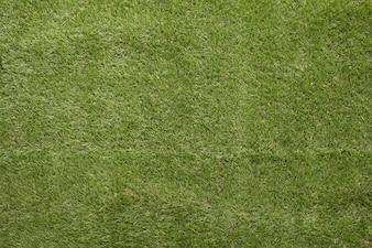 Gros plan, de, herbe artificielle, champ, vue, vue, texture, fait, fond