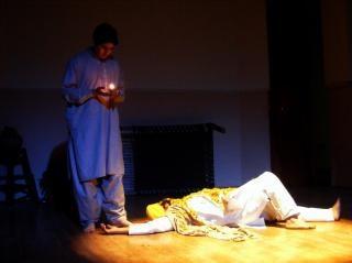 Haider Ali, scène, garçon