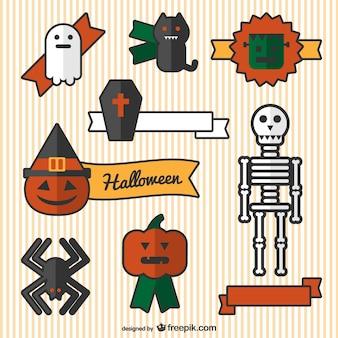 Ornements de bande dessinée de Halloween