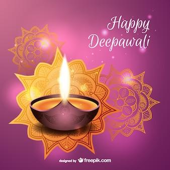 Bonne vecteur Deepawali