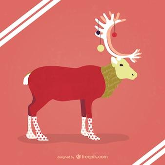 Hipster rennes illustration