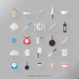 icônes de cuisine