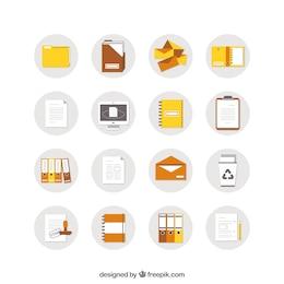 icônes de documents