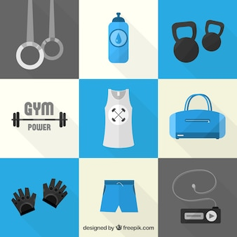 icônes de Gym