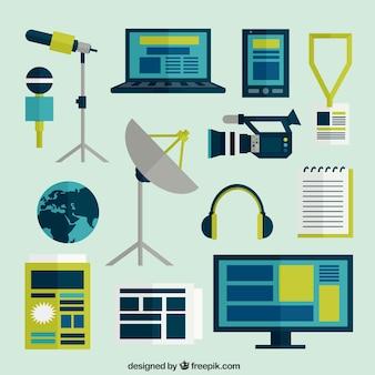 icônes de journalisme
