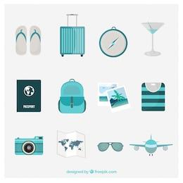 icônes de Tourisme