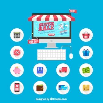 Icônes Super vendre