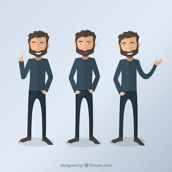 illustrations de Man