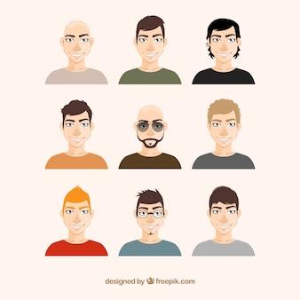 illustrations Hommes
