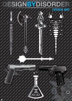 ilustrations stock de vecteur outil killer