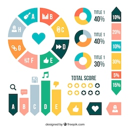 Infographie Colorful