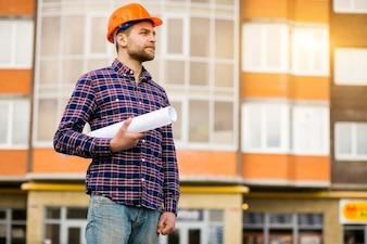 Ingénieur ouvrier construction m électricien