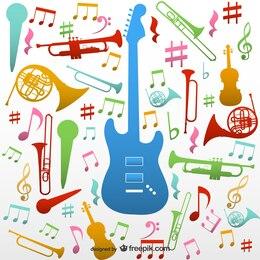 Instruments de musique vecteur bagout