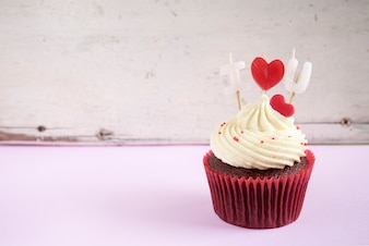 Je t'aime Cupcake