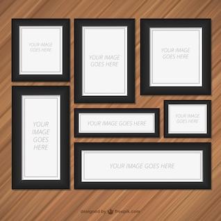 cadres bois vecteurs et photos gratuites. Black Bedroom Furniture Sets. Home Design Ideas