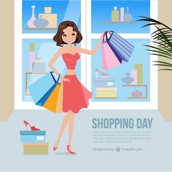 journée de shopping