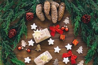 Joyeux éléments de Noël