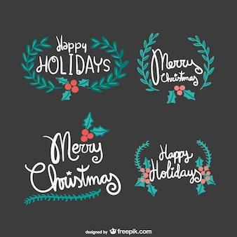 Joyeux Noël Vintage lettrage