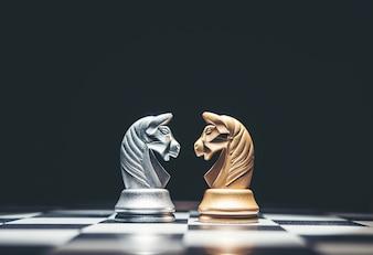 L'échec est un jeu de stratégie et de renseignement.