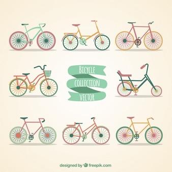 la collecte de vélos