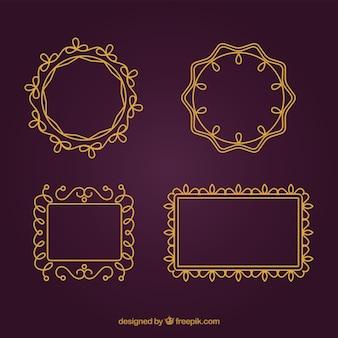 La collecte des cadres décoratifs