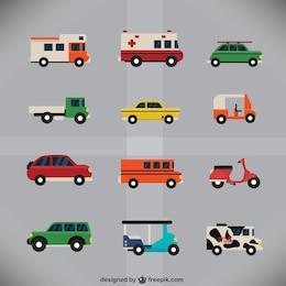 La collecte des véhicules urbains