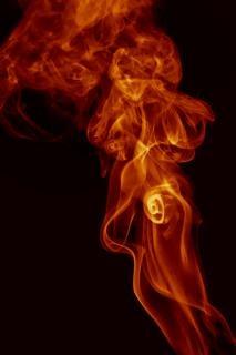 La fumée de l'air de la fumée odeur